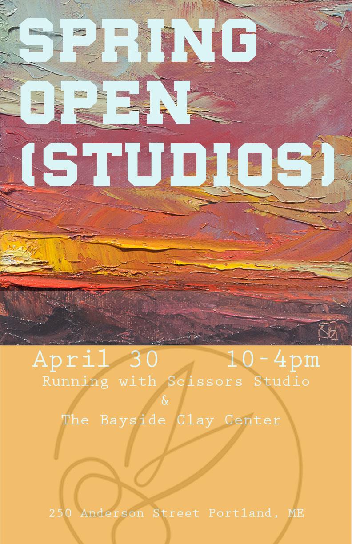 open studio poster brady